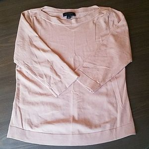 Ann Taylor light pink spring sweater